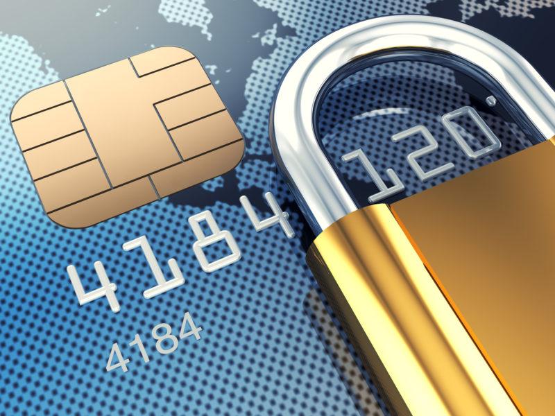 Carte de crédit sécurisée