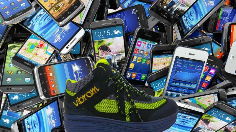 smartphone et recharges