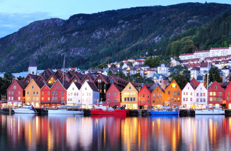 Norvege. Destination d'automne pas cher