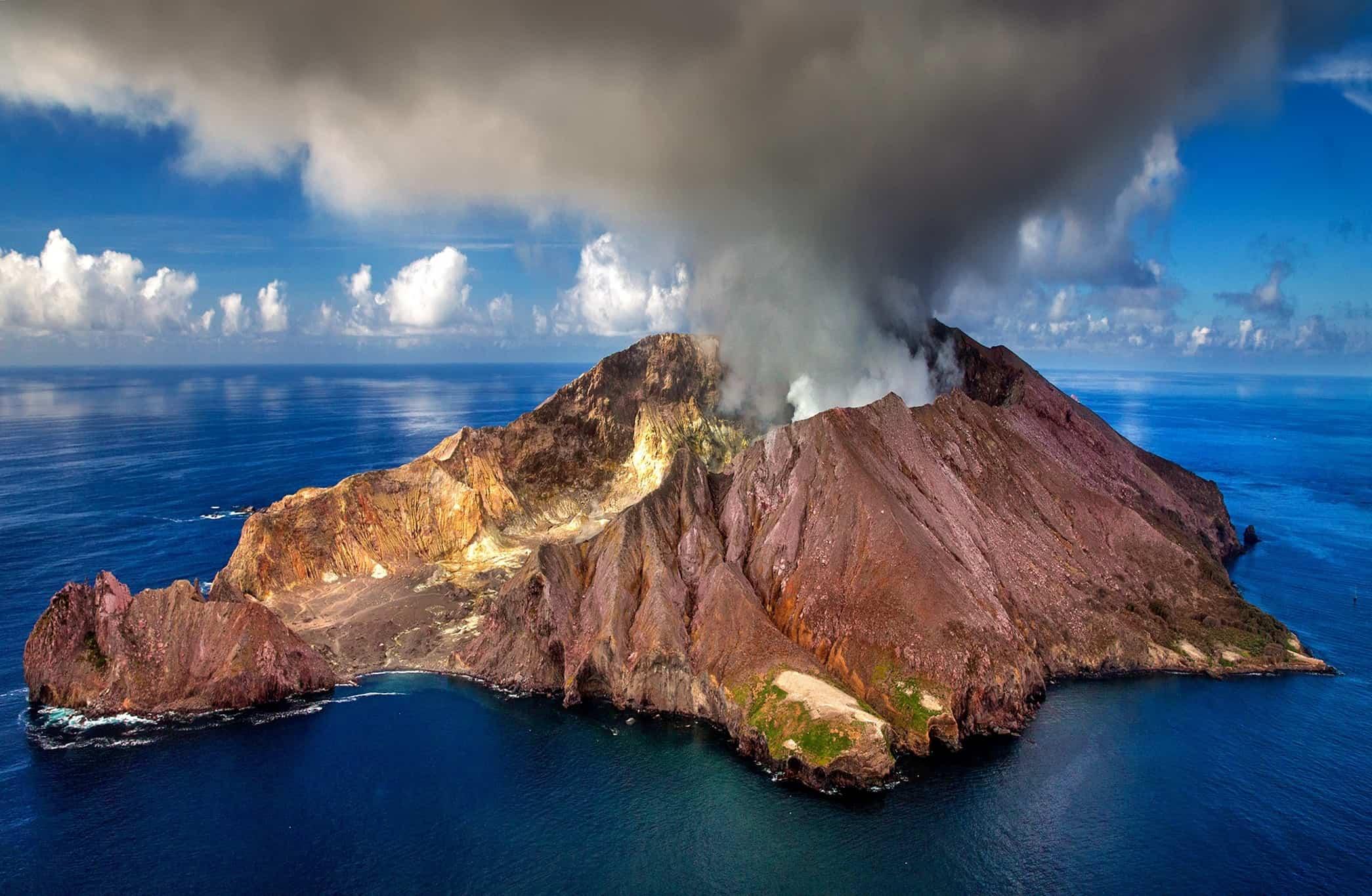 volcans actifs