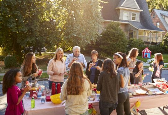 Des idées pour fêter entre voisins