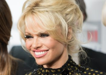 Pamela Anderson pour la Coupe du monde