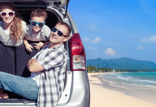 Vacances familiales en voiture