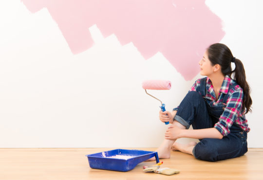 Peinture d'intérieur