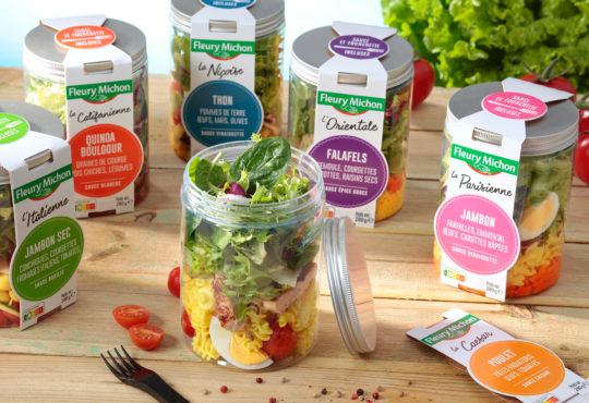 Salad Jars de Fleury Michon