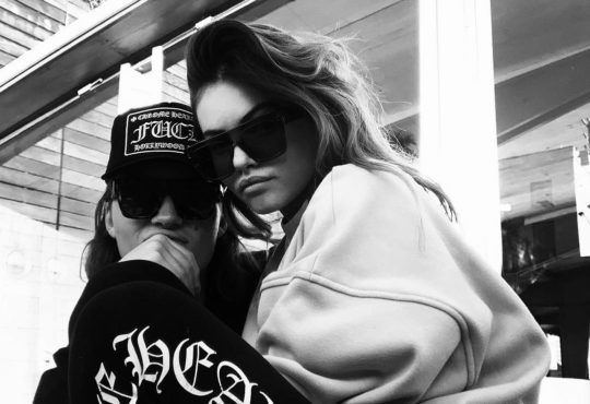 Le couple people THylane Blondeau Milane Meritte