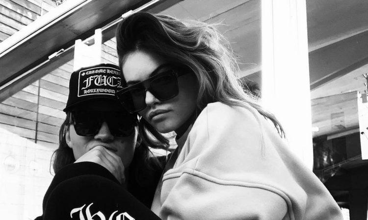 Le couple people THylane Blondeau Milane Meritte